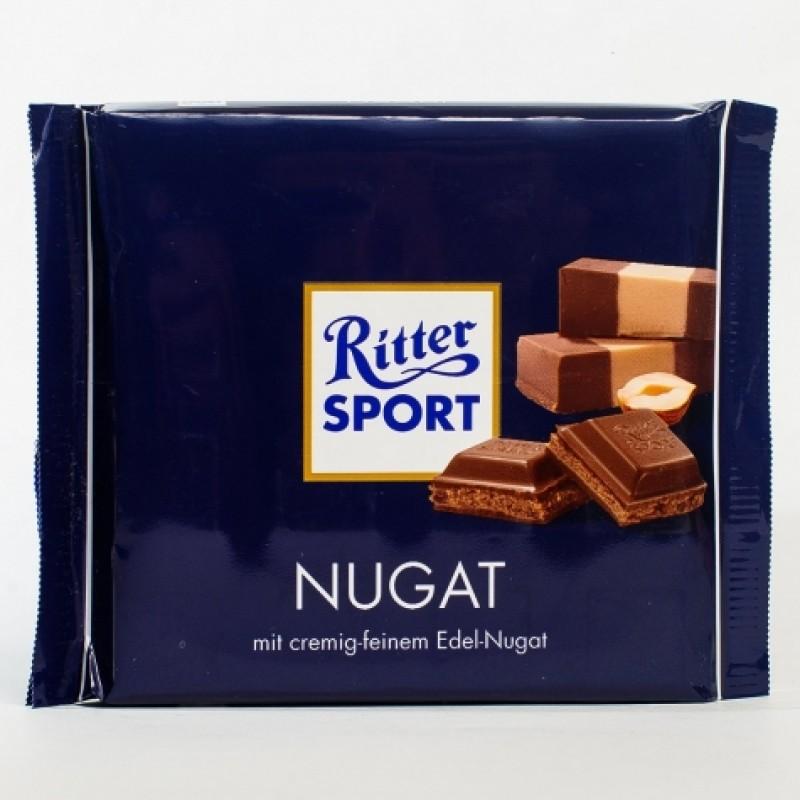 Шоколад Ritter Sport Nugat c вишневим пралiне 250г