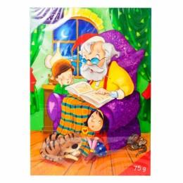 Шоколад Різдвяний календар Excellent Baron Merry Christmas 75г