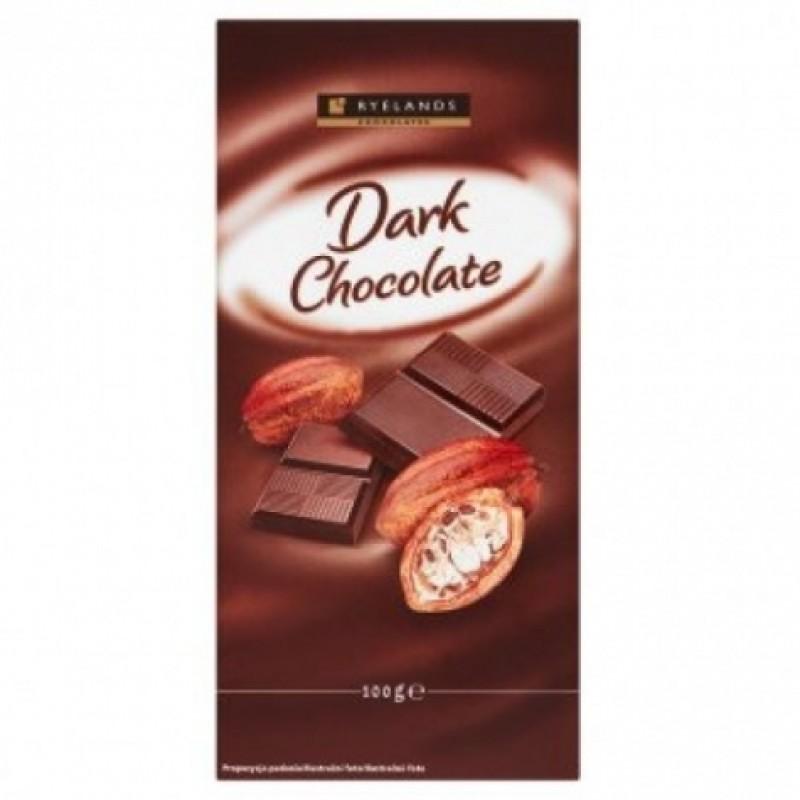 Шоколад Ryelands чорний 100г