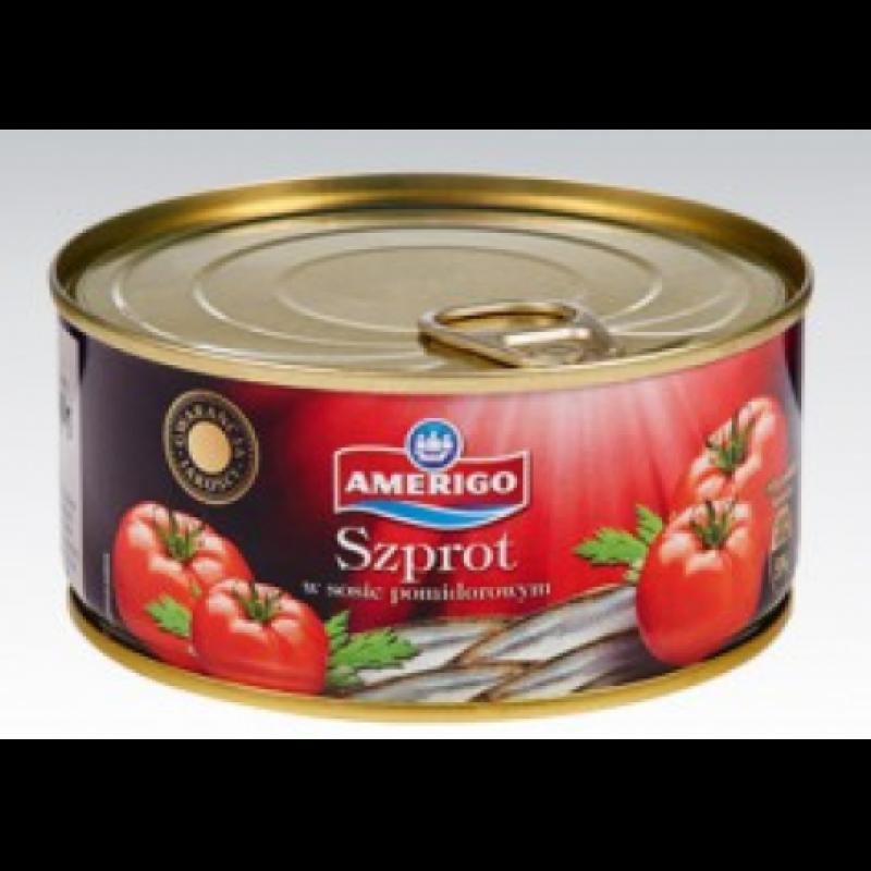Шпроти Amerigo в томатному соусі 300г