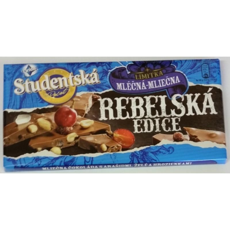 Шоколад Studentska Rebelska Edice Horka-Horka 180г