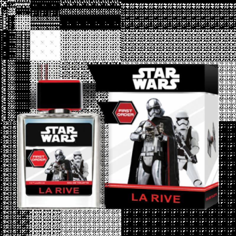 Туалетна вода La Rive Stars Wars first order для хлопчиків 50мл