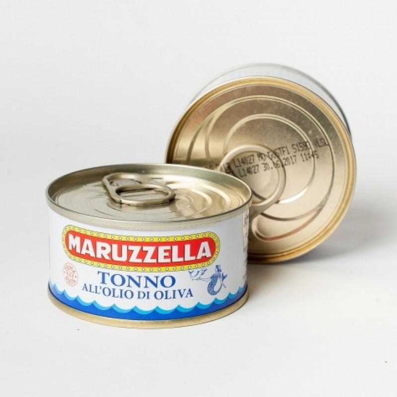 Тунець Maruzzella в оливковiй олiї 80г