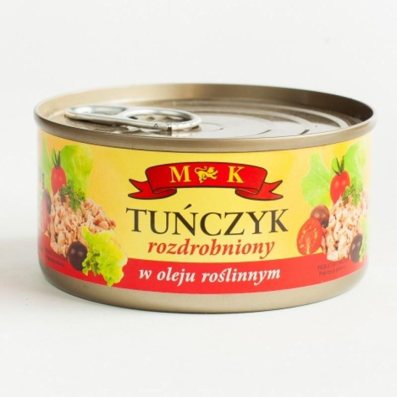 Тунець MK салатний в рослиннiй олii 170г