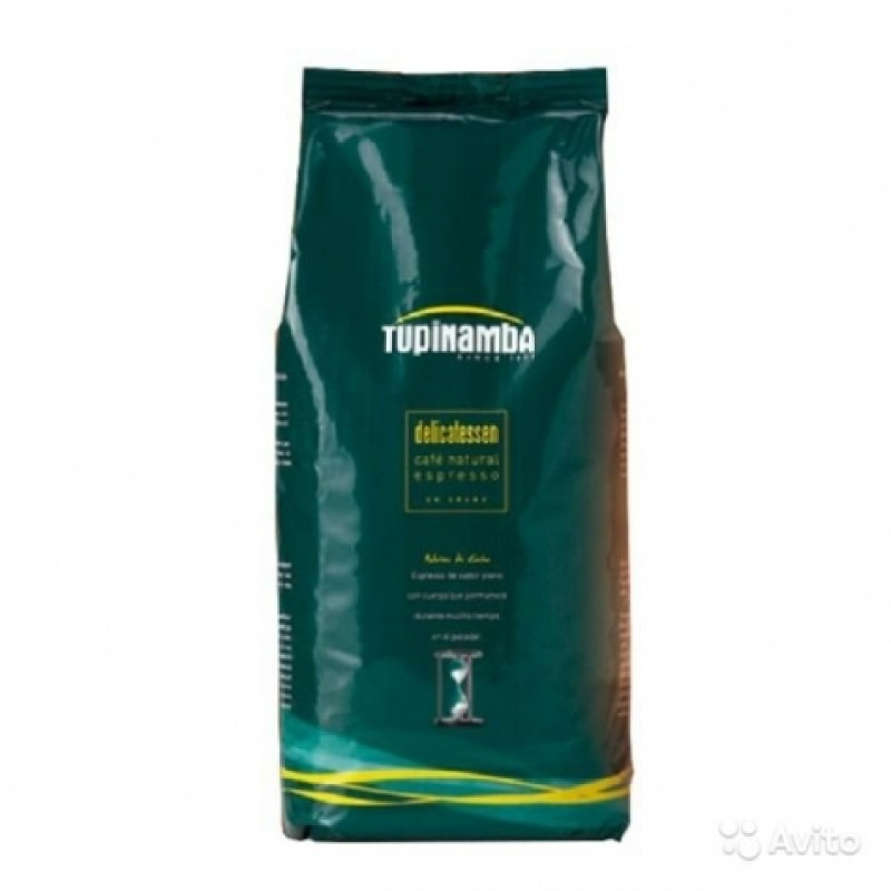 Кава в зернах Tupinamba 1кг