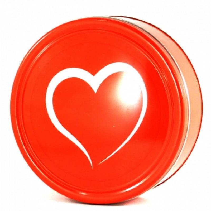 Печиво Серце в жестянiй коробцi 454г