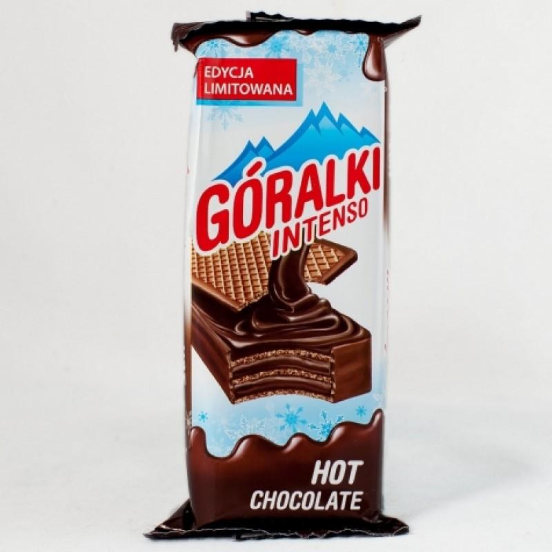 Вафелька Goralki чорний шоколад 50г