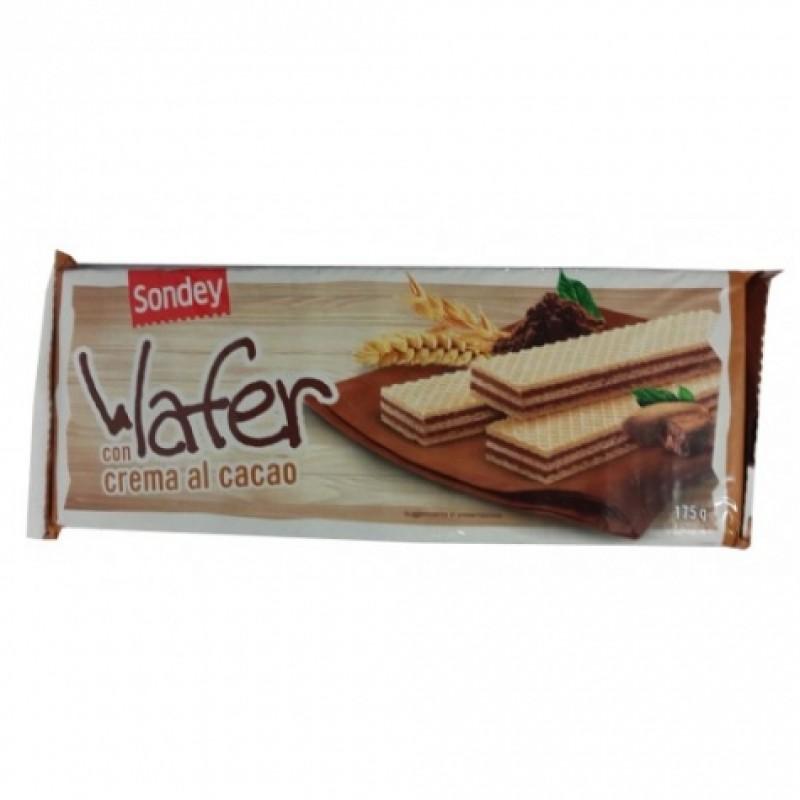 Вафлі Sondey крем-какао 175г