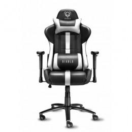 Diablo X-Player чорно-біле геймерське крісло