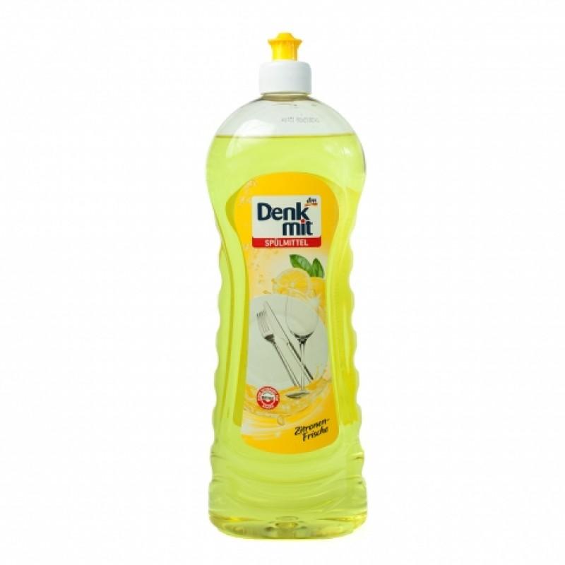Засiб DenkMit лимонна свіжість для миття посуду 1л