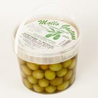 Зелені оливки в розсолі Mollo Gactana 500г
