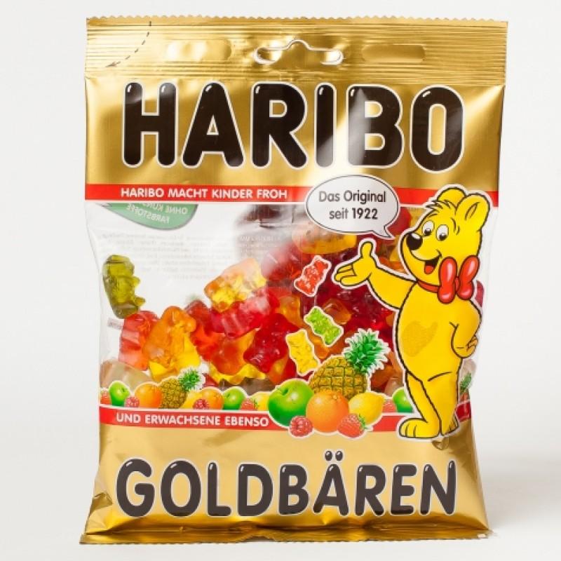 Желейки Haribo goldbaren 200г