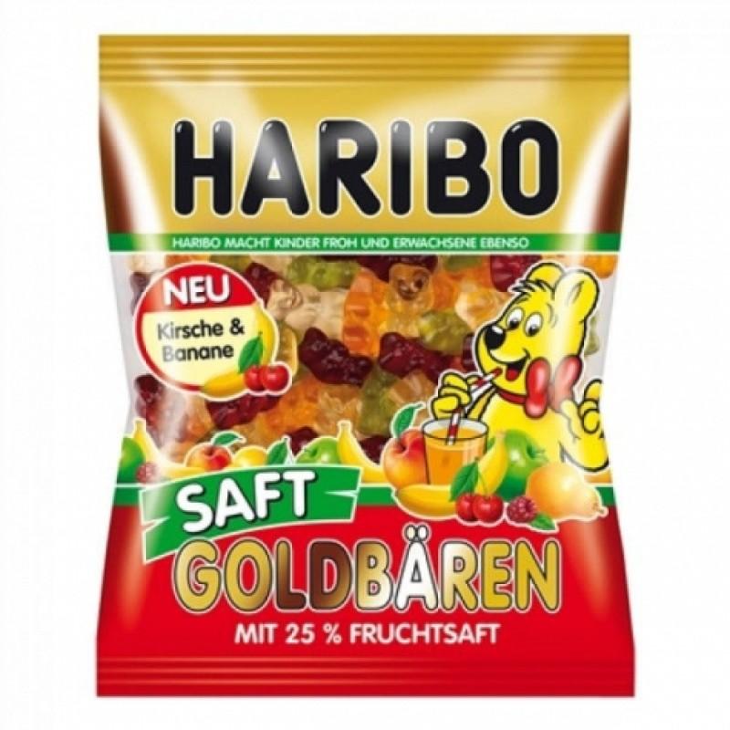 Желейки Haribo Saft goldbaren 200г