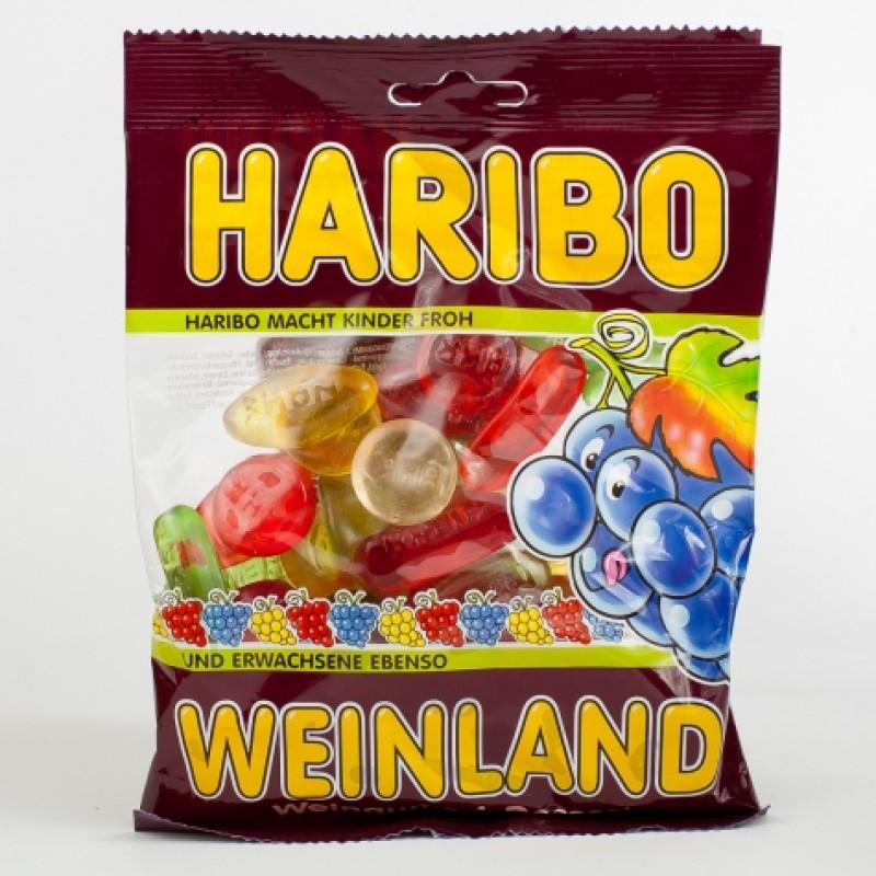 Желейки Haribo weinland 200г