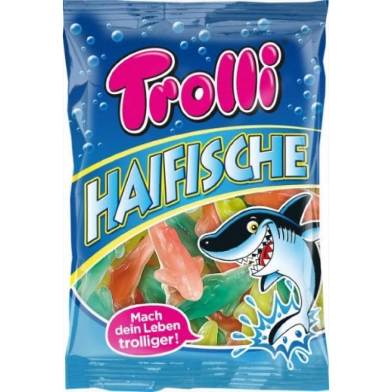Желейки Trolli Haifische 200г
