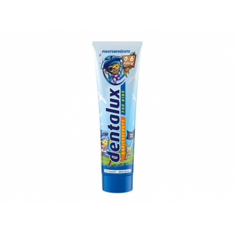 Зубна паста Dentalux дитяча вiд 0-6 рокiв 100мл