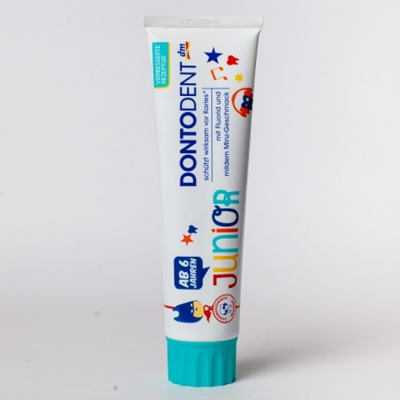 Зубна паста Dontodent junior юнiор 6-12 рокiв 100мл