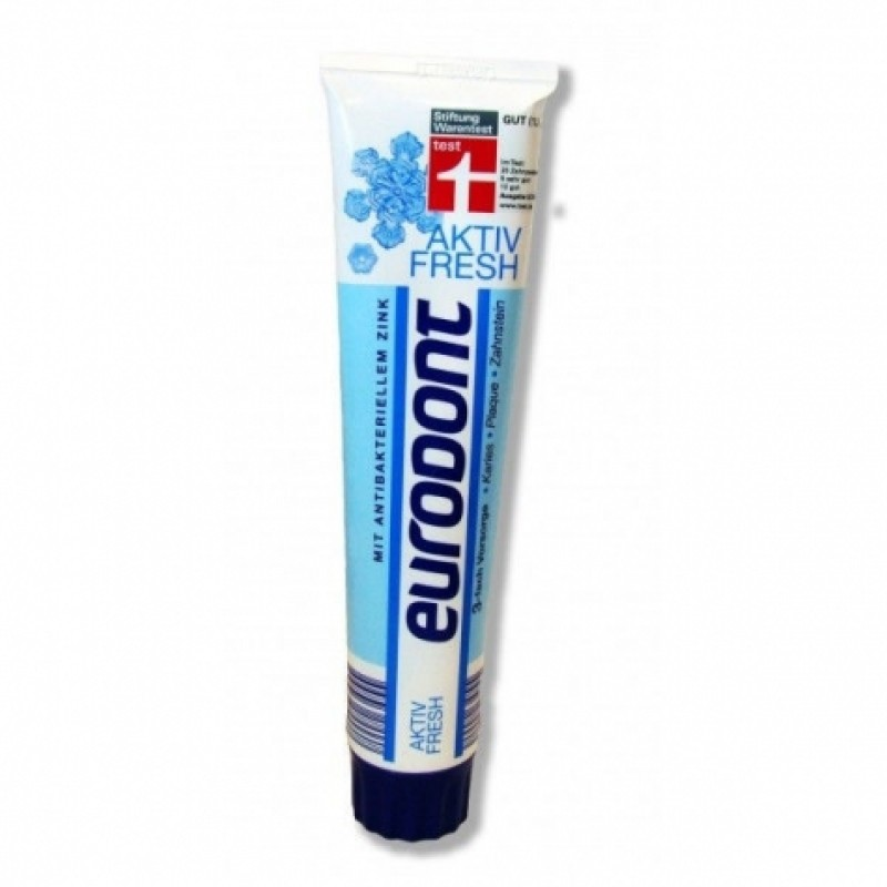 Зубна паста Eurodont aktiv fresh 125мл